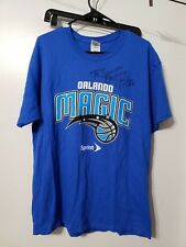 New nwots Nick Anderson Signed shirt Orlando Magic Signature autographed Large L