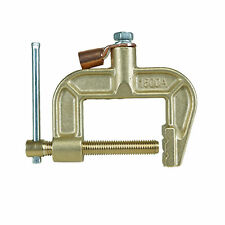 """New Brass Earth Clamp Ground Clamp 1000 Amp Max Clamp Size 3.3"""" 83 mm CEC-1500A"""