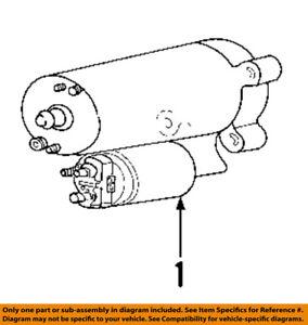 FORD OEM-Starter Motor YS8Z11002AARM
