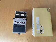 Boss GE-7 Equalizer Gitarren Effekt
