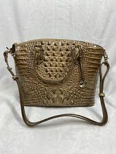 Brahmin DUXBURY SATCHEL RIVIERA MELBOURNE   Handbag NWT $275 Gold Stunning