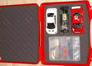 QQ 50399 NINCO Peugeot 307 WRC N Gauge Building Kit Prorace 91 Pcs IN Briefcase