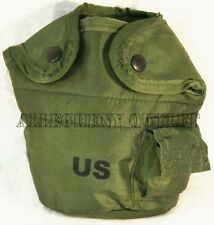 2 New! 1 QT QUART CANTEEN COVER / Pouch with Alice Clips - Genuine US Military