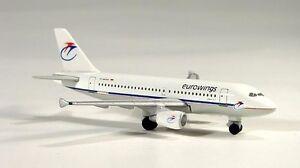 Herpa 508926 Eurowings Luftverkehrs Airbus A319-100 1:500 Diecast New in Box