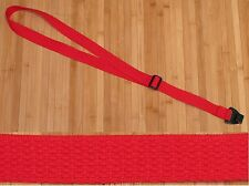 RED Woven Cotton USA made TROPHY Ukulele Uke Strap