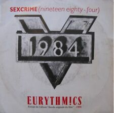 EURYTHMICS sexcrime/i did it just the same SP45T 1984++