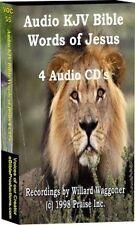 CD Audio Words of Jesus  KJV on 4 Audio CDs