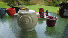 HALL ivory NAUTILUS soup tureen NEW