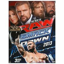 WWE: The Best of Raw and Smackdown 2013 (DVD, 2013, 3-Disc Set)