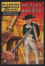 Classics Illustrated #100 Hrn 100 F- 5.5 Ow/W Mutiny on the Bounty Original Ed