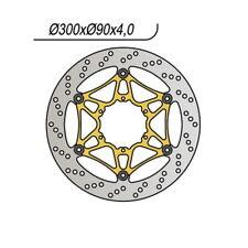 Disco freno Ant. NG 1103 04/09 DERBI GPR Nude (gs1a1b) 125 65.91103