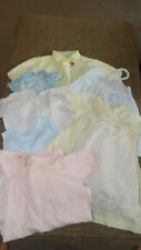 Vintage baby clothes Nightgown, Dress, bloomers, Sweater