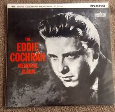 "Eddie Cochran - The Eddie Cochran Memorial Album 12"" Vinyl Very Good Plus C"
