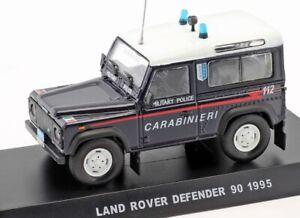 Carabinieri Land Rover Defender 90 1995 Automobile 1:43 Auto Fuoristrada 1/43
