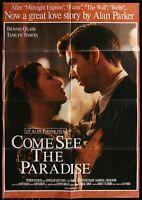 Come See The Paradise ORIGINAL Dennis Quaid  1996  1 SHEET MOVIE POSTER 27 x 40