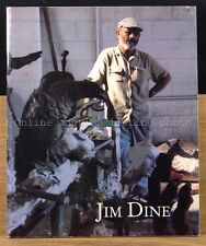 Jim Dine: New Painting and Sculpture, Art Exhibition Catalog 1991