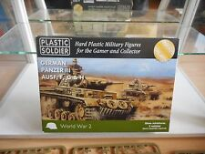 Model kit Plastic Soldier German Panzer III Ausf. F,G & H on 15mm in Box