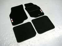 Mitsubishi Evolution VII 7 Car Mats + RalliArt Logos (x2) - Colour Choice!