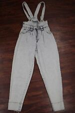 JORDACHE OVERALLS JEANS | Women's Size Medium | Tapered. Rare. | ACID VINTAGE
