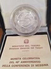 ITALIA REPUBBLICA 1995 CONFERENZA DI MESSINA 10000 LIRE FDC