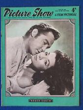 Picture Show Magazine - 15/3/1958 - Richard Todd & Juliette Greco Cover
