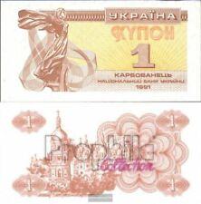 Oekraïne 81a ongecirculeerd 1991 1 Karbovanets