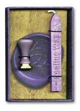 Purple Wicca Triquetra Sealing Wax!