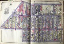 1924 Borough Park Brooklyn NY 15th-18th Av & Cahill Road - 55th Street Atlas Map