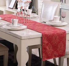 100 Cotton Sateen Dining Kitchen Table Runner Home Wedding Decor 190x31cm