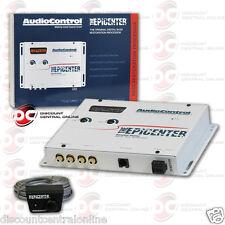 AUDIOCONTROL THE EPICENTER CAR AUDIO DIGITAL BASS RESTORATION EQUALIZER WHITE