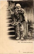 CPA Vieux Mendiant Breton (a4297)