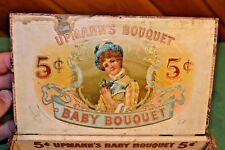 Carl Upmann's (& Wilcox) 1901 Baby Bouquet Victorian New York Cigar Box 50ct VTG