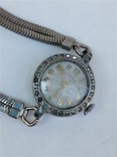 Vintage Wega 7 Jewels Swiss Made Ladies Wind-up Watch for Parts or Repair