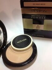Revlon New Complexion Powder, Sand Beige #03 , 0.35 Ounce OIL -FREE NEW.