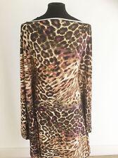 Patchwork Leopard printed on Viscose/Lycra Jersey Dressmaking Fabric