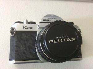Pentax K1000 35mm SLR Film Camera with 50mm F/ 2 lens