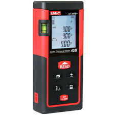 UNI-T UT390B+ 40M/131ft Handheld Digital Laser Range Finder Distance Meter Area