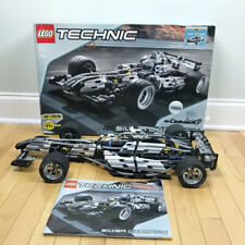 LEGO 8458 Technic Used Silver Champion - 100% Complete W. BOX/ INSTRUCTIONS