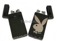 Playboy Dual Arc Electric USB Lighter Rechargeable Flameless Windproof Plasma