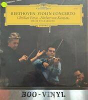 Beethoven(Vinyl LP)Violin Concerto-Deutsche Grammophon-139 021-UK-1967-Ex Con