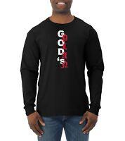 God's Plan Long Sleeve Hip Hop T Shirt Graphic Music Tee