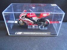 Die Cast Model Moto 1:24 YAMAHA YZR-M1 Marco Melandri 2004 [N3-29 ]