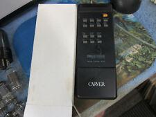 Carver Dpl-33 Rh-33 Remote Control, Box