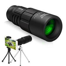 Monocular Telescope Dual Focus Optics Zoom 16x52 Night Vision Portable Travel