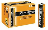 10x Duracell Industrial AA Batteries. Professional grade, procell equivalent.