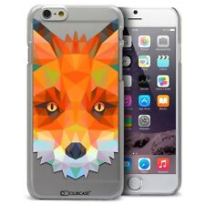 Coque Housse Etui Pour iPhone 6 Plus 5.5 Polygon Animal Rigide Fin  Renard