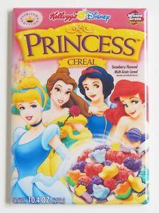 Disney Princess Cereal Box FRIDGE MAGNET