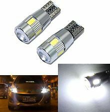 T10 6LED Parking/Number Plate Light High Power Car  LED For SSX4 S Cross