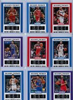 2019-20 Panini Contenders Draft Picks Base Cards - Pick Your Players