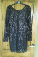 BNWT Atmosphere Black Sequin Party Dress size 12 from Primark